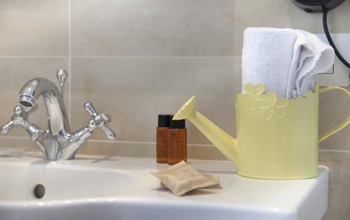 Asciugamano bagno appartamento